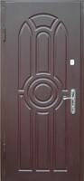 Двери металлические МДФ 3Д матовый