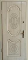 Двери металлические МДФ шпон