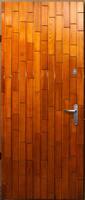 Двери металлические Вагонка